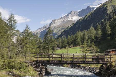 hohe tauern: Mountain idyll in the Hohe Tauern mountains Stock Photo