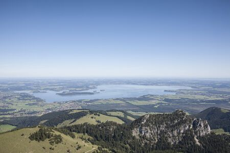 lake Chiemsee in Upper Bavaria Stock Photo - 16215783