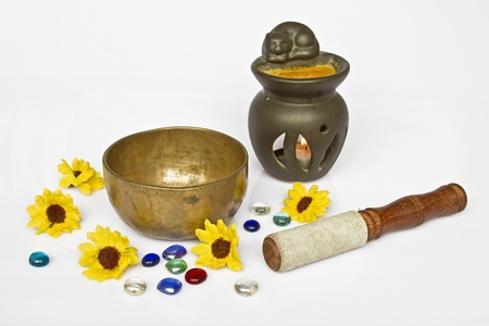 healing with sound: Important meditation utensils