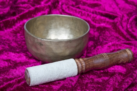 Singing Bowl Stock Photo - 16420611