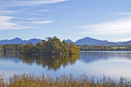 lake Staffelsee in Upper Bavaria Stock Photo - 16504482