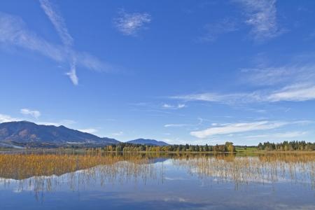 lake Staffelsee in Upper Bavaria Stock Photo - 17016092