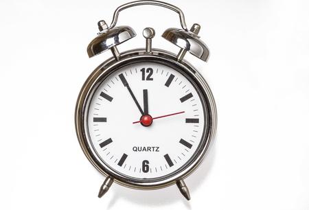 analogous: alarm clock in retro look Stock Photo