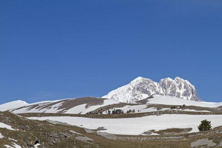 grande: Corno Grande in Abruzzo