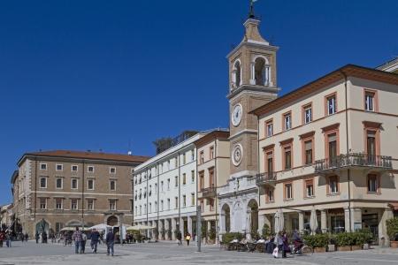 martiri:  Piazza Tre Martiri in Rimini