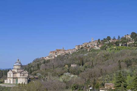 montepulciano: Madonna di San Biagio and Montepulciano