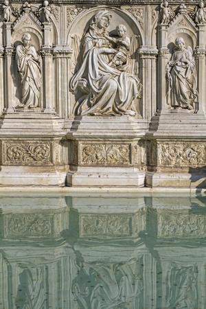 Fonte Gaia in Siena photo