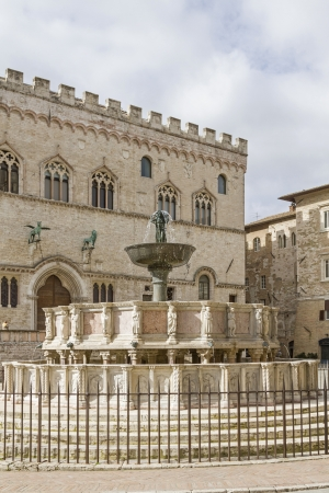 priori: Fontana Maggiore a Perugia
