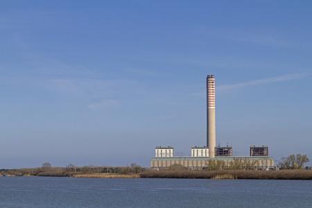 production plant: impianto di produzione di energia Archivio Fotografico