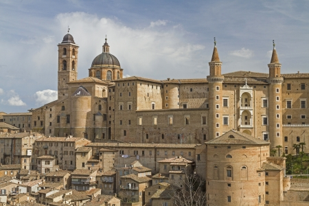 urbino: Urbino in Marche Stock Photo
