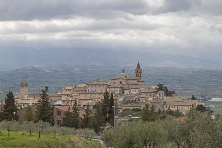 umbria: Trevi  - town in Umbria