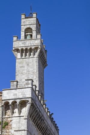 montepulciano: city hall in Montepulciano