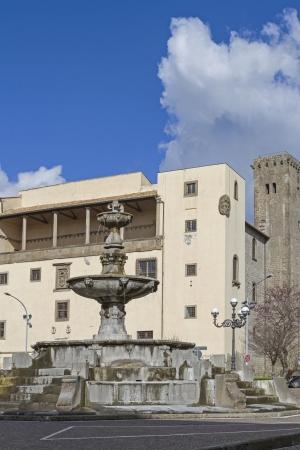 viterbo: Piazza della Rocca in Viterbo
