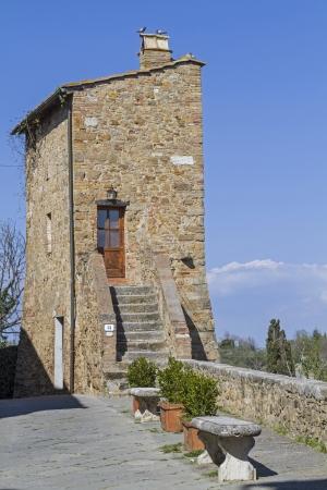san quirico: Kleines pittoreskes Häuschen in San Quirico d Orcia