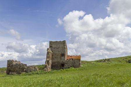 lazio: farm ruin in Lazio