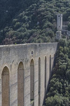 torri: Ponte delle torri in Spoleto