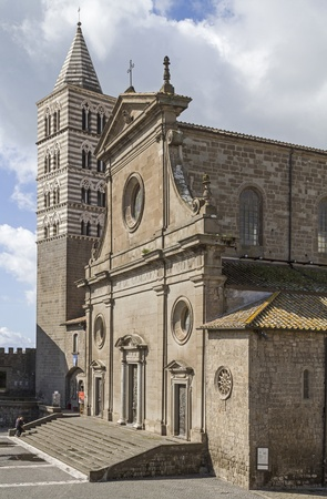 viterbo: San Lorenzo in Viterbo Stock Photo