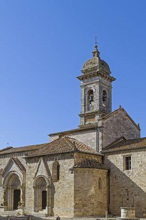san quirico: ollegiate church in San Quirico d Orcia