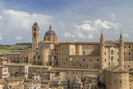 Urbino in Marche Standard-Bild