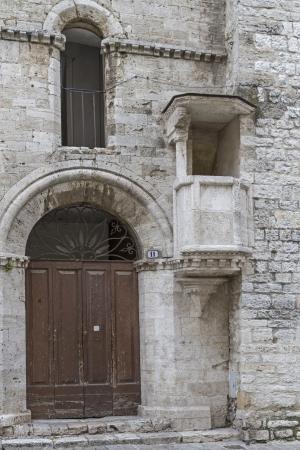 priori: stone pulpit - city hall in Narni
