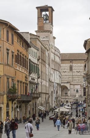 priori: Corso Vannuci a Perugia