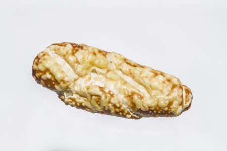 pretzel stick: Cheese stick with white background