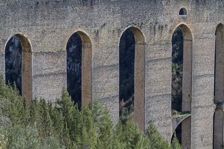 Ponte delle torri in Spoleto photo