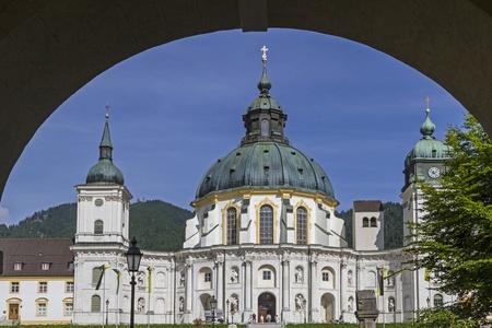 ettal: monastery Ettal
