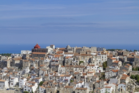 foggia: Vico del Gargano Stock Photo
