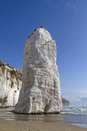 foggia: Pizzomuno - landmark of Gargano coast