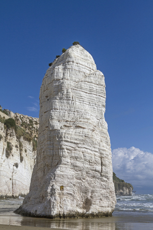 foggia: Pizzomuno - landmark of Gargano coast