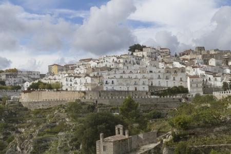 monte sant angelo: Monte Sant Angelo - famous pilgrime town in Gargano