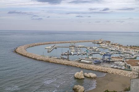 foggia: The marina of Rodi Garganico