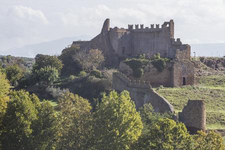 tuscania: olc castle in Tuscania