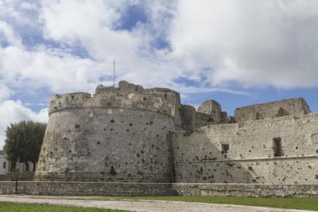 foggia: castel in Monte Sant Angelo