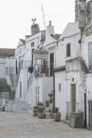 monte sant angelo: Monte Sant Angelo - famous pilgriame town in Apulia