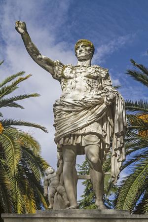 augustus: Monument of the Emperor Augustus in Lucerna