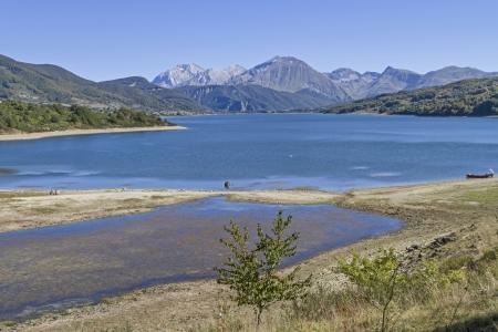 abruzzo: Lago di Campostosto