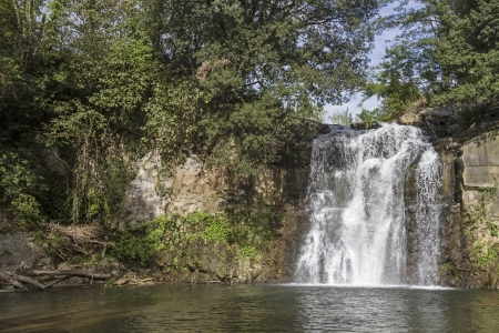 lazio: waterfall in Lazio