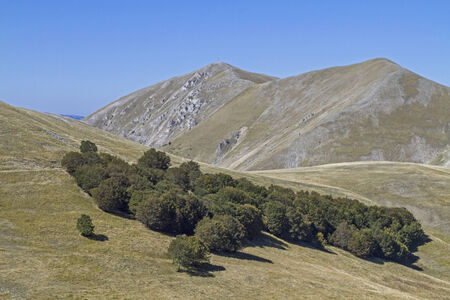 sibillini: Sibillini mountains and  Monte Vettore