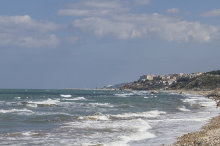 foggia: Sandy beaches, such as here at Rodi Garganico, are found on the coast of the Gargano