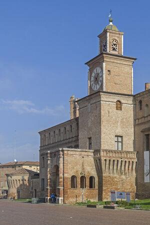 Palazzo dei Pio - City Hall of the bustling tourist town of Carpi