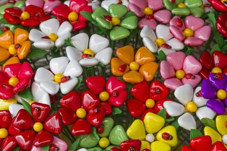 Confetti - sweets from Sulmona Archivio Fotografico