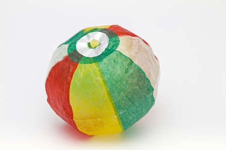 bloat: Japanese paper balls  - great fun for young and old  Stock Photo