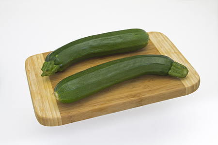 courgette: Courgette on wooden board
