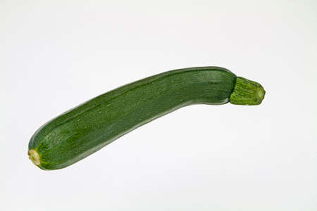 courgette: courgette on white background Stock Photo