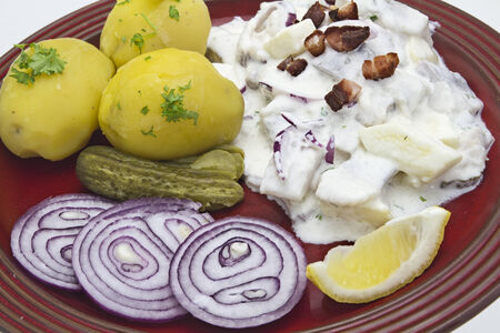 inserted: Young herring with potatoes
