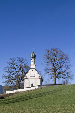 Ramsach chapel near Murnau in Upper Bavaria