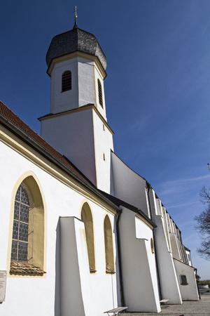 pilgriame church  on Hohenpeissenberg