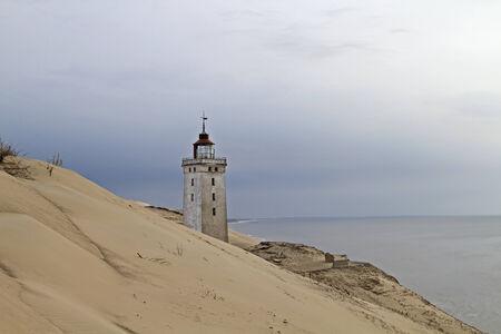 jutland: Rubjerg Knude, a dune in northern Jutland in Denmark with lighthouse